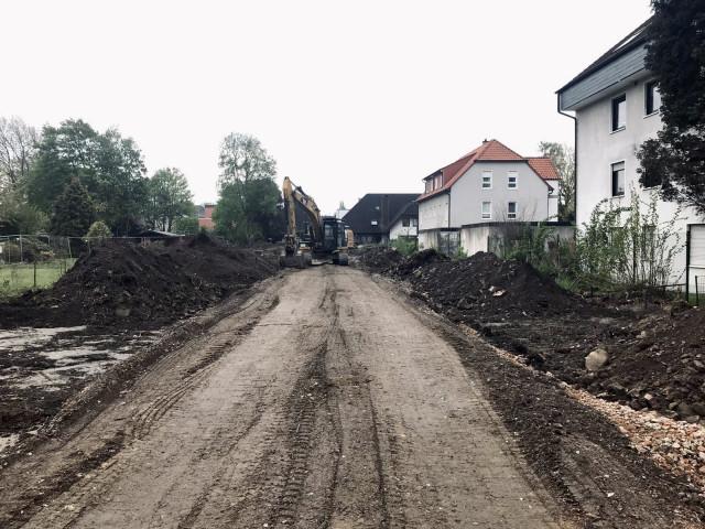 Baubeginn Brackel