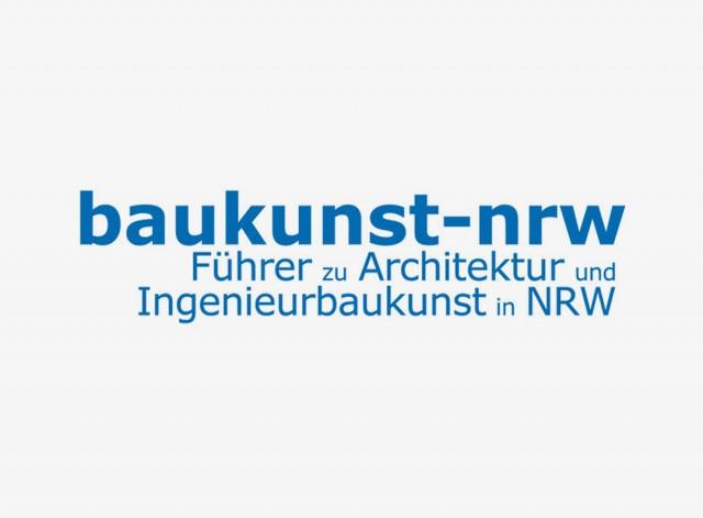 """Veröffentlichung im """"Baukunst-NRW-Führer"""""""