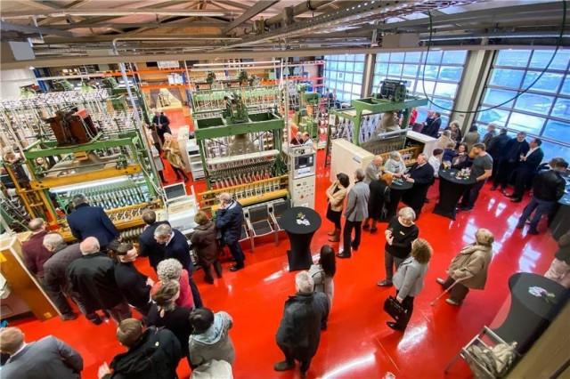 Eröffnung  Dortex Produktionshalle