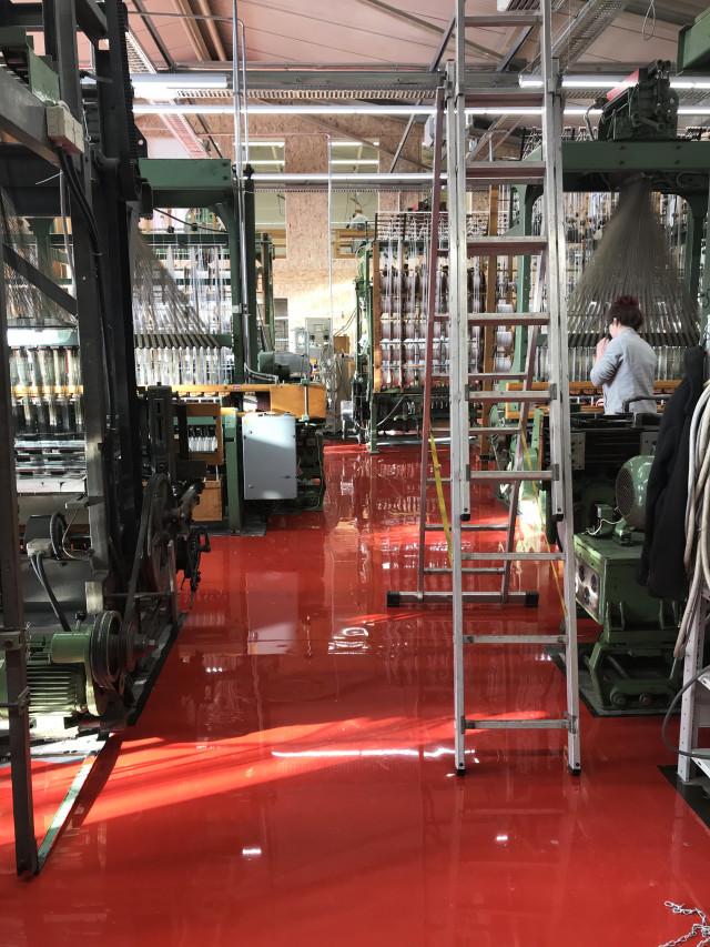 Dortex Produktionshalle