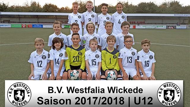 Neues Fußballtrikot für U12 Westfalia Wickede