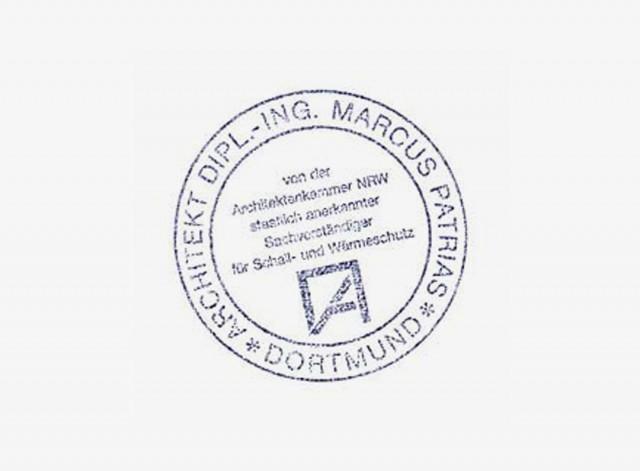 März 2011: Staatlich anerkannter Sachverständiger für Schall- und Wärmeschutz